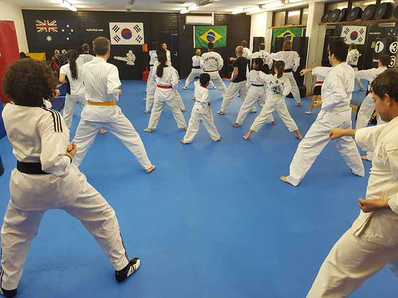Wyllie offer classes both at the Dojo and at School locations